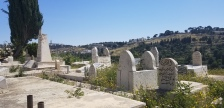 On our way to lunch we traveled through a Muslim cemetary just outside the city walls.